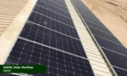 Qatar 40KW Solar Rooftop