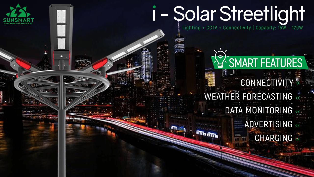 i-Solar Streetlights
